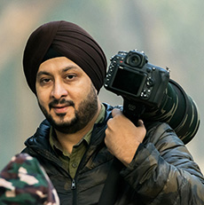about Randeep Singh the wildlife photographer.